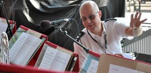 Mats Janhagen, dirigent för AMK