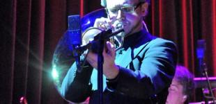 Samuel Olsson - trumpet. Eric Gadd & Bohuslän Big Band på Nalen 26/3 2012.